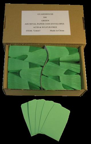 2x2 Coin Envelopes