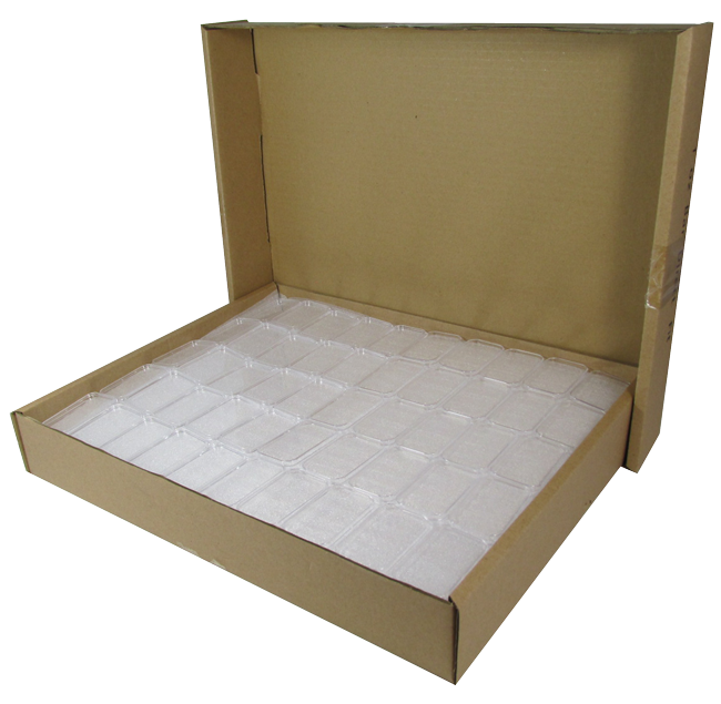 1 oz Silver Bar Holder bulk. 250 Count Boxes.
