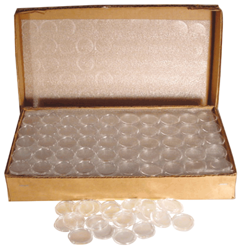 Air-Tite T30 Half Dollar Direct Fit Coin Capsules Bulk Pack