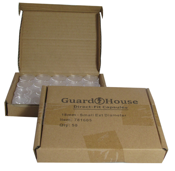 Guardhouse Dime Coin Capsules - 50 PK