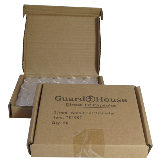 Guardhouse Nickel Coin Capsules - 50 Pack
