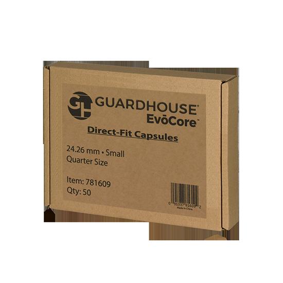 Guardhouse Quarter Coin Capsules - 50 PK