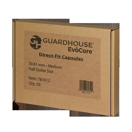 Guardhouse Half Dollar Coin Capsules - 50 PK