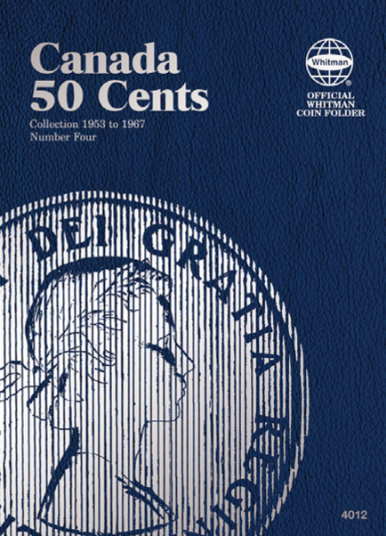 Whitman Canadian 50 Cent Coin Folder 1953 - 1967