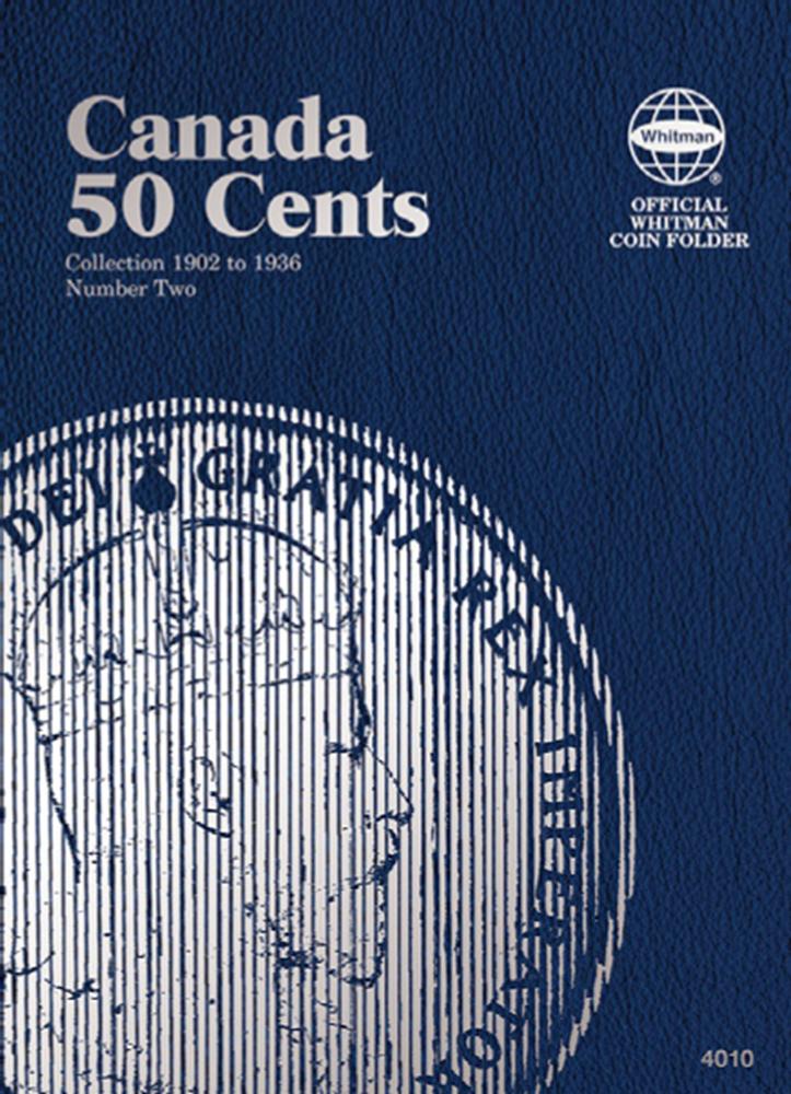 Canadian 50 Cents Vol. II 1902-1936 Canadian 50 Cents Vol. II 1902-1936, 4010