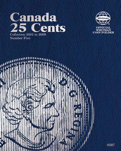 Canadian 25 Cents Vol. V 2001-2009