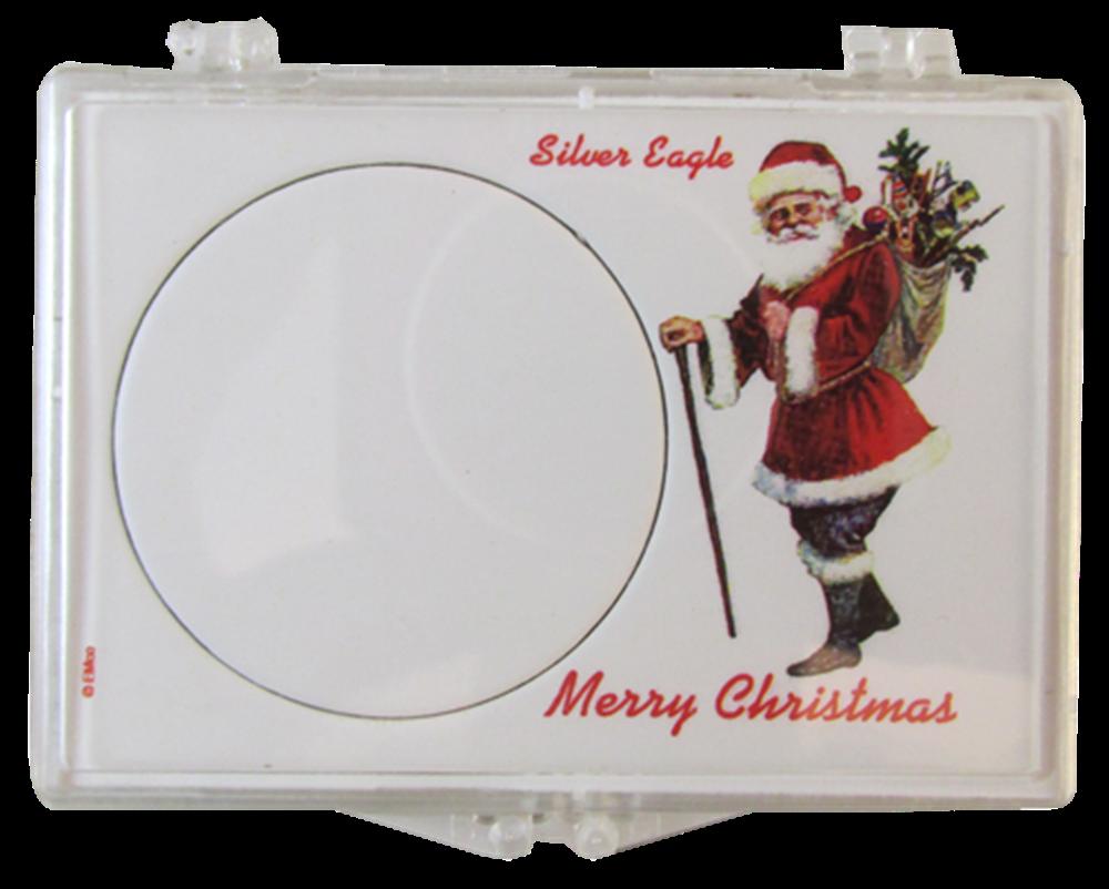 American Silver Eagle Santa Gift Case ASE, Santa, SN273