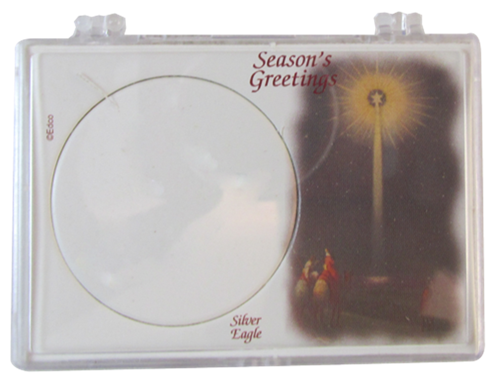 American Silver Eagle Christmas Star Gift Case ASE, Christmas Star, SN274