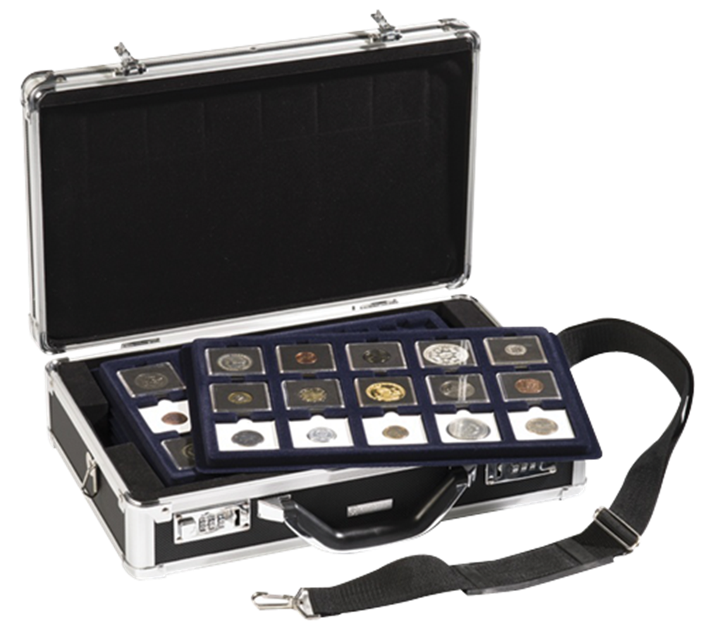 Black Aluminum Attache Case Black, Aluminum, Attache Case, KO3PROSLEER