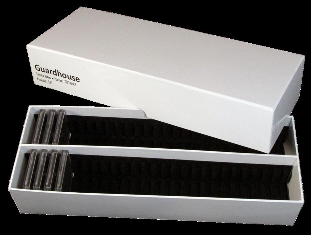 Tetra Storage Box Holds 50 2x2 Snaplocks Guardhouse 91037816429