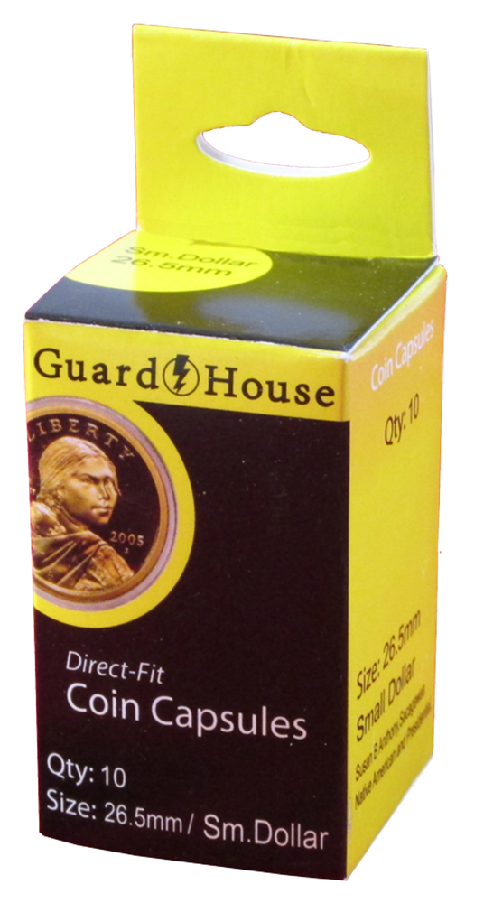 Guardhouse Small Dollar Coin Capsules - 10 Pack