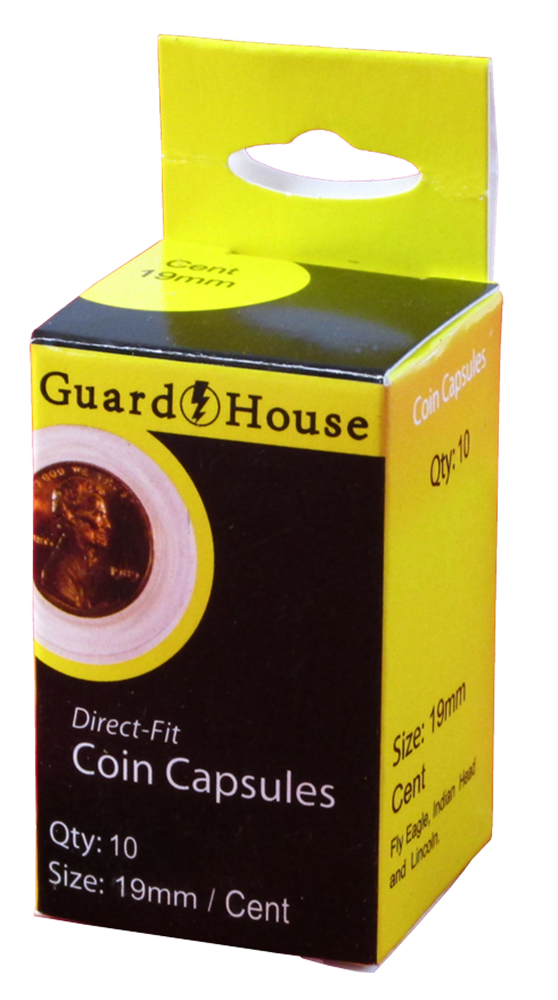 Guardhouse Penny Coin Capsules - 10 Pack