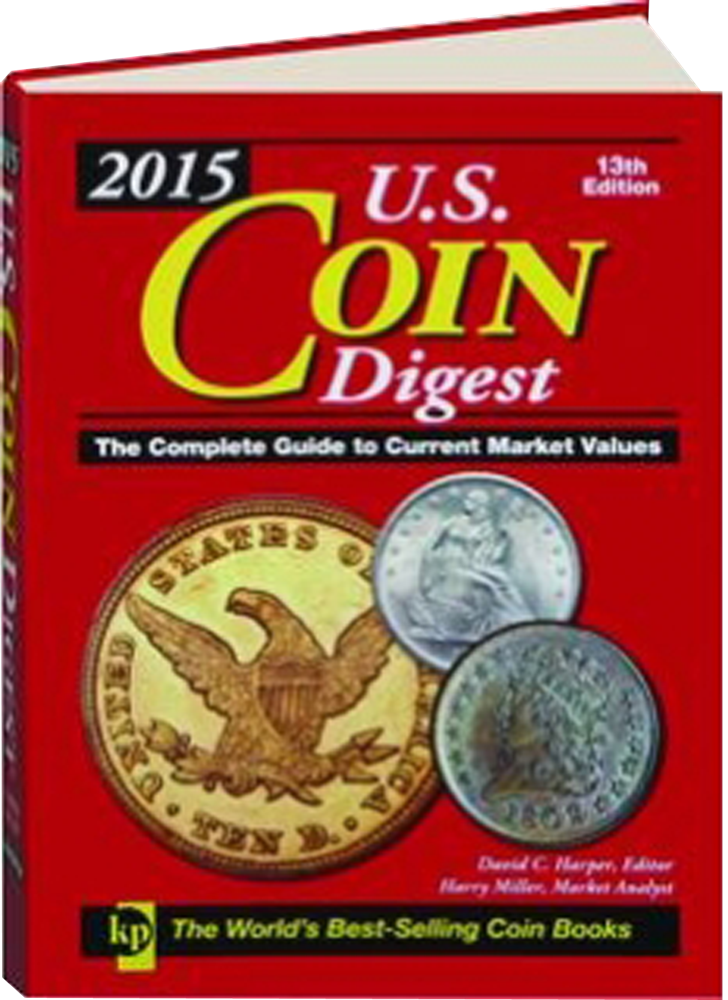 2015 US Coin Digest, 13th Editions 2015 US Coin Digest, 13th Editions, T0868