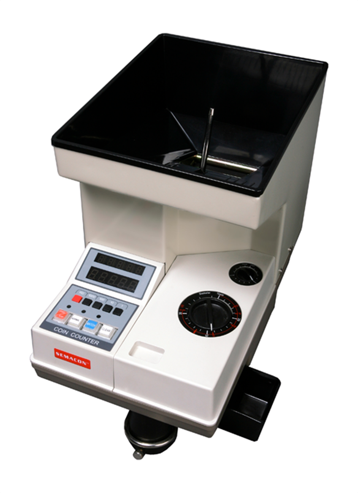 Semacon S-140 Electric Coin Counter  Large Hopper Semacon S-140 ,Electric, Coin Counter , Large Hopper, S-140