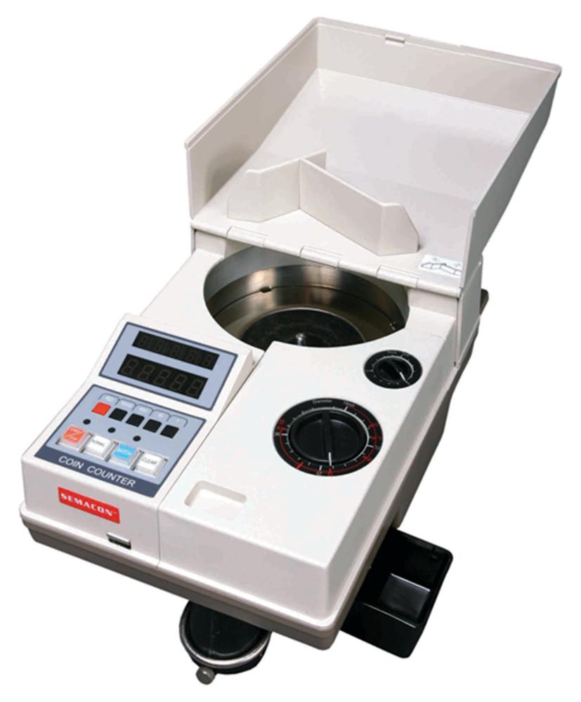 Semacon S-120 Portable Electric Coin Counter Semacon S-120, Portable, Electric, Coin Counter, S-120