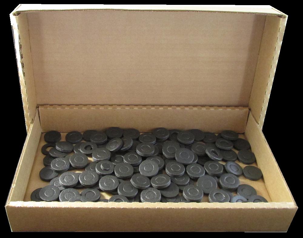 13mm Air Tite Black Ring - Bulk Pack 250 13mm Rings- Bulk, Model A