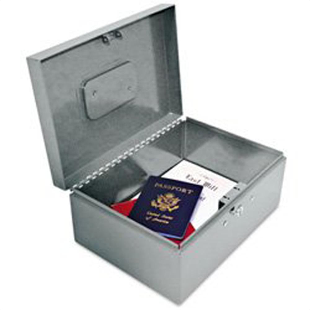 Heavy-Duty Locking Security Box Heavy-Duty Locking Security Box, 221F92GRA