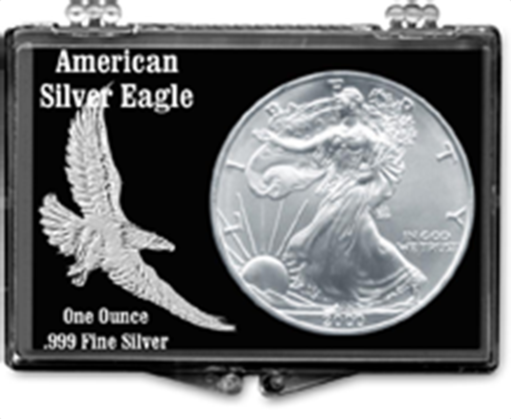 Embossed Eagle- American Silver Eagle Embossed Eagle- American Silver Eagle, SN207