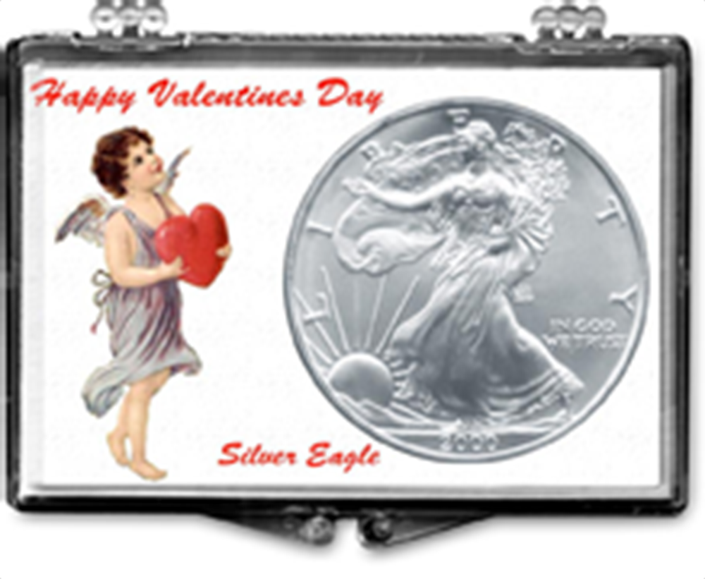 Valentines Day- American Silver Eagle Valentines Day- American Silver Eagle, SN253