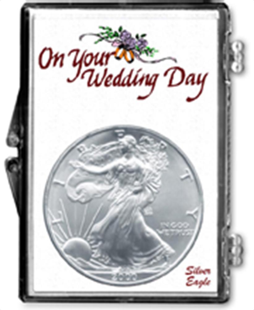 Wedding Day- American Silver Eagle Wedding Day- American Silver Eagle, SN224