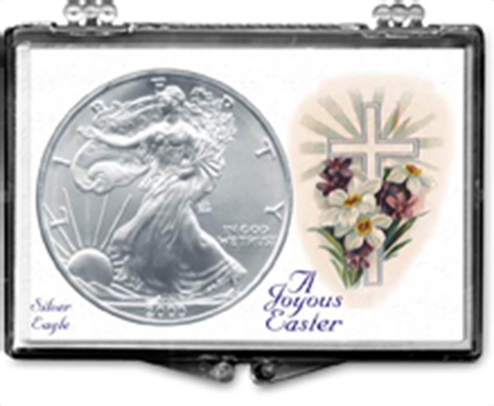 Easter Cross- American Silver Eagle Easter Cross- American Silver Eagle, SN247