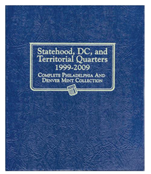 Whitman Statehood, D.C., and Territorial Quarters Album 1999 - 2009