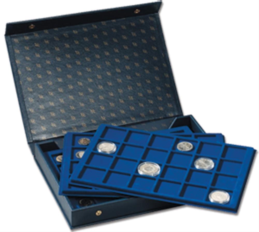 "2 Tray Coin ""Jewel"" Box 2 Tray, Coin ""Jewel"" Box, MK4TBLLEER"