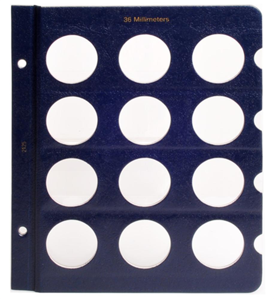 Whitman Blank Pages - 36mm Whitman ,Blank Pages - 36mm, 0794821251