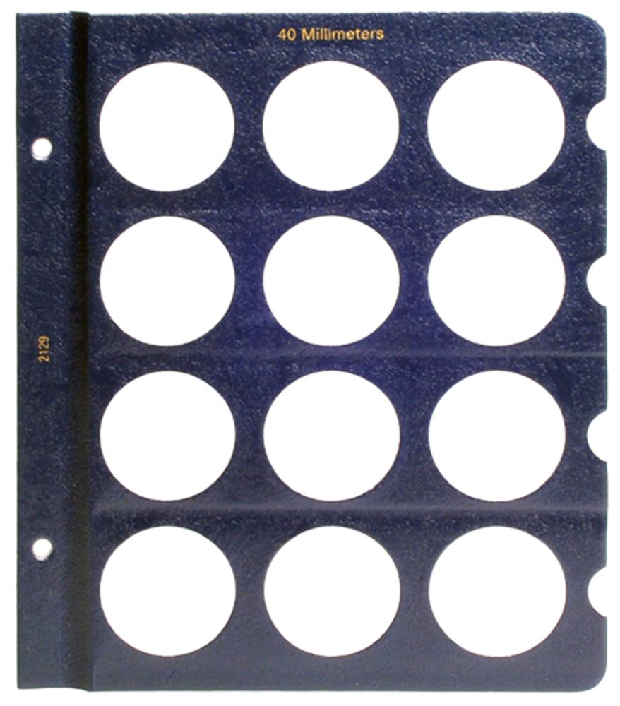 Whitman Blank Pages - 40mm Whitman ,Blank Pages - 40mm, 0794821294