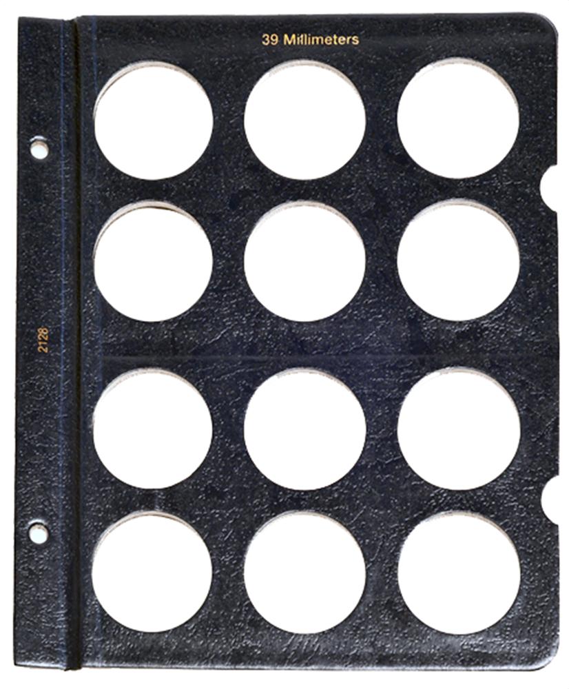 Whitman Blank Pages - 39mm Whitman Blank Pages - 39mm, 0794821286