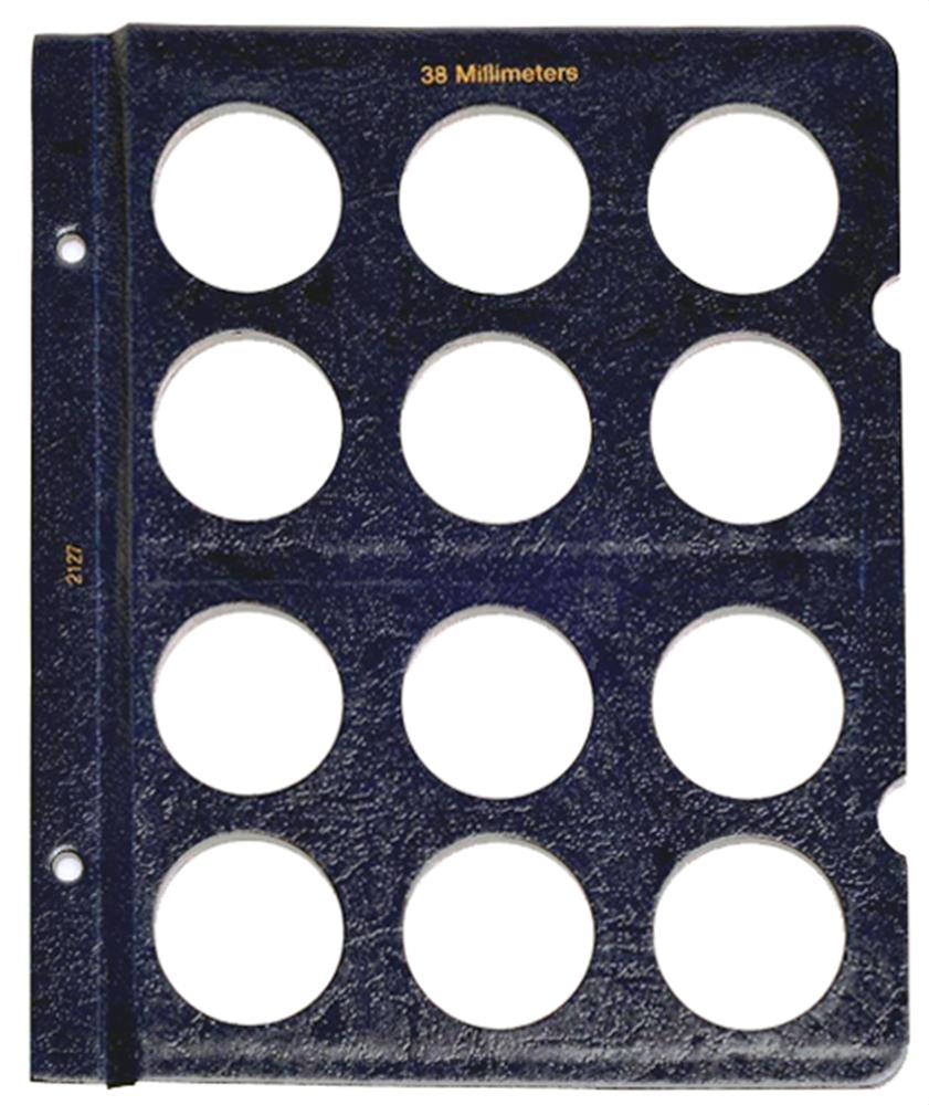 Whitman Blank Pages - 38mm Whitman, Blank Pages - 38mm, 0794821278