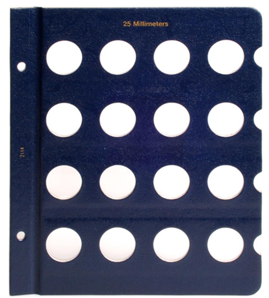Whitman Blank Pages - 25mm Whitman, Blank Pages - 25mm, 0794821146