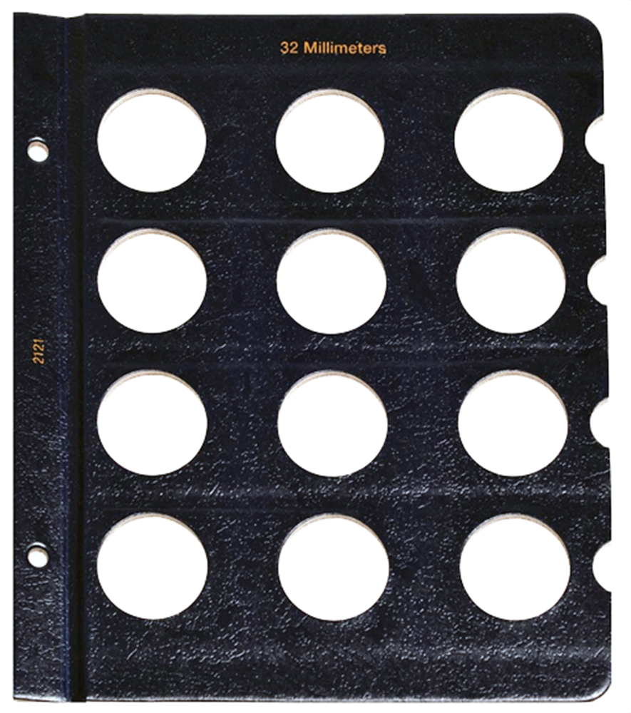 Whitman Blank Pages - 32mm Whitman, Blank Pages - 32mm, 0794821219