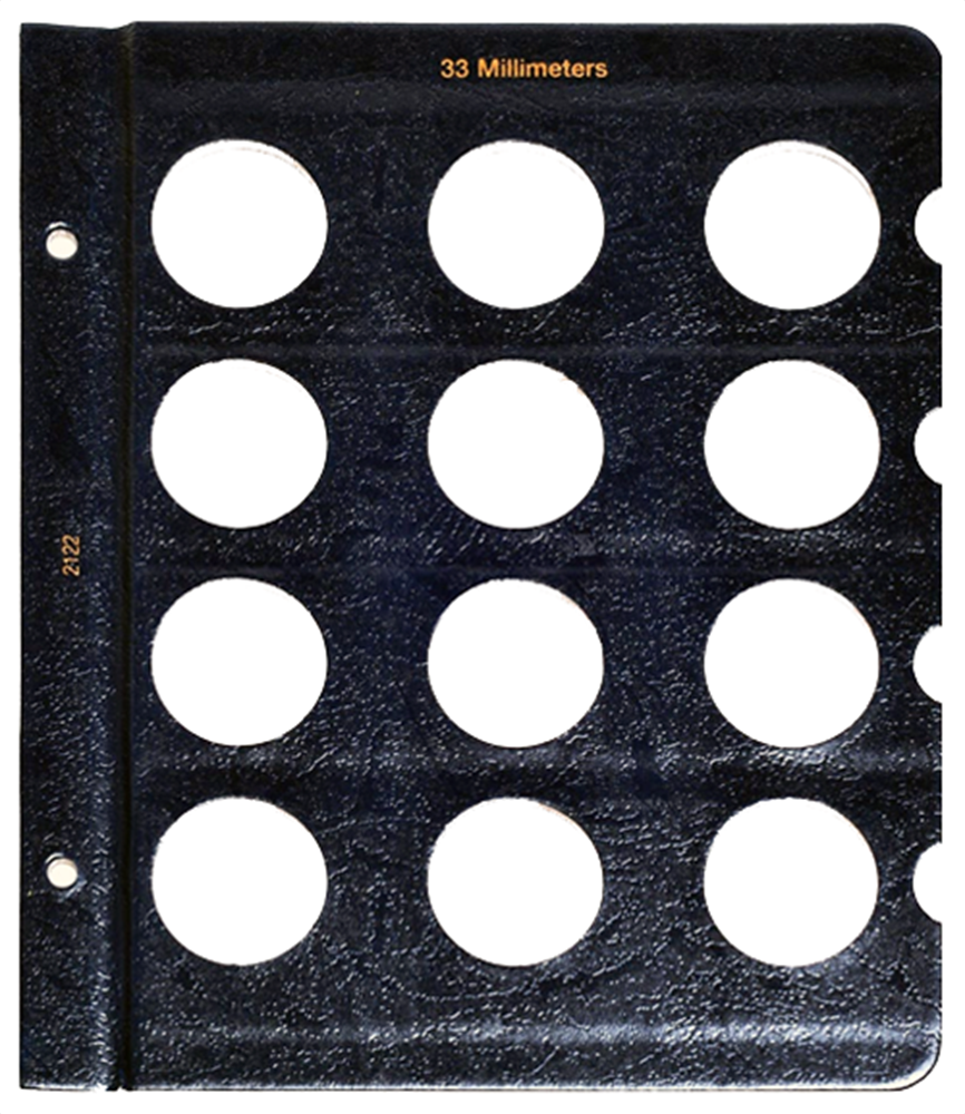 Whitman Blank Pages - 33mm Whitman, Blank Pages - 33mm, 0794821227