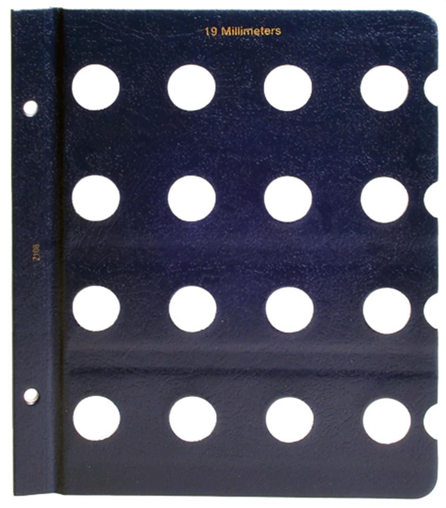 Whitman Blank Pages - 19mm Whitman ,Blank Pages - 19mm, 0794821081