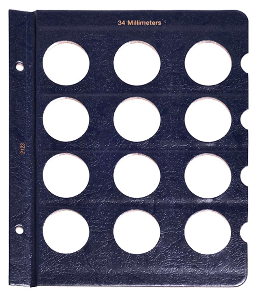 Whitman Blank Pages - 34mm Whitman ,Blank Pages - 34mm, 0794821235
