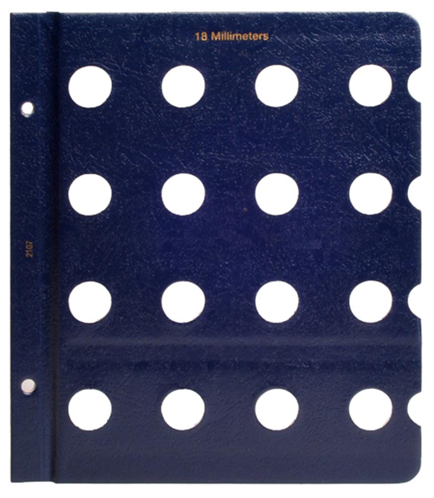 Whitman Blank Pages - 18mm Whitman, Blank Pages - 18mm, 0794821073