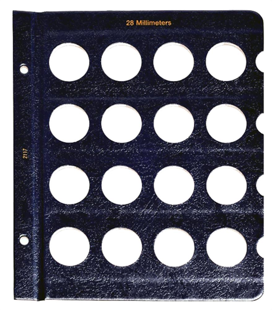 Whitman Blank Pages - 28mm Whitman, Blank Pages - 28mm, 0794821170