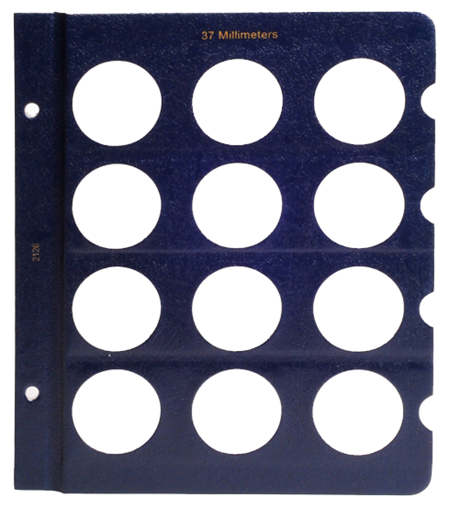 Whitman Blank Pages - 37mm Whitman, Blank Pages - 37mm, 079482126X