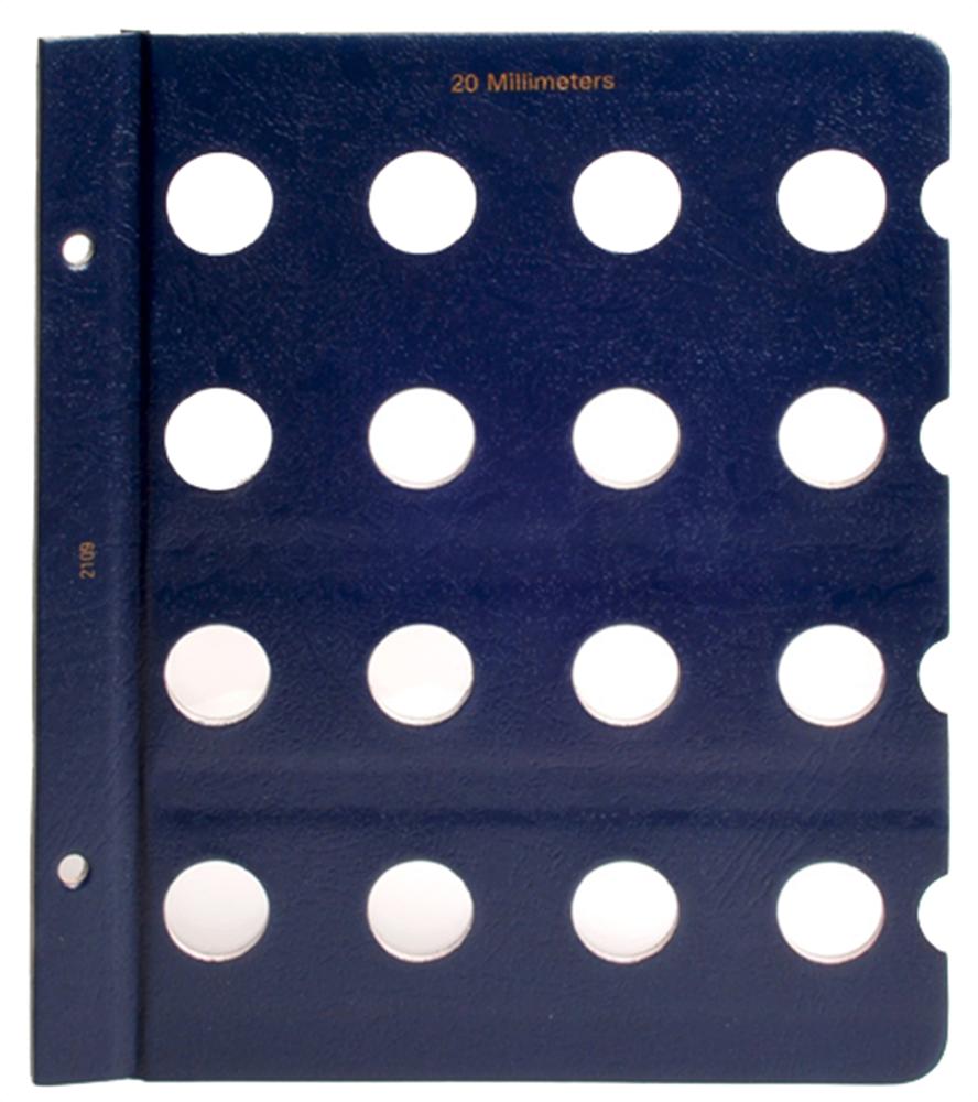 Whitman Blank Pages - 20mm Whitman, Blank Pages - 20mm, 079482109X