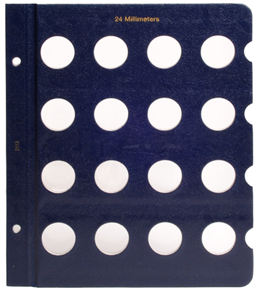 Whitman Blank Pages - 24mm Whitman, Blank Pages - 24mm, 0794821138