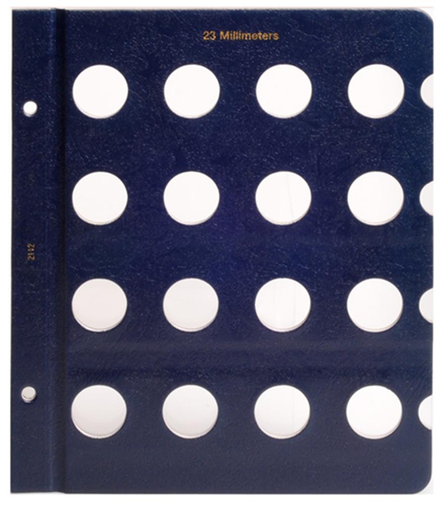 Whitman Blank Pages - 23mm Whitman ,Blank Pages - 23mm, 079482112X