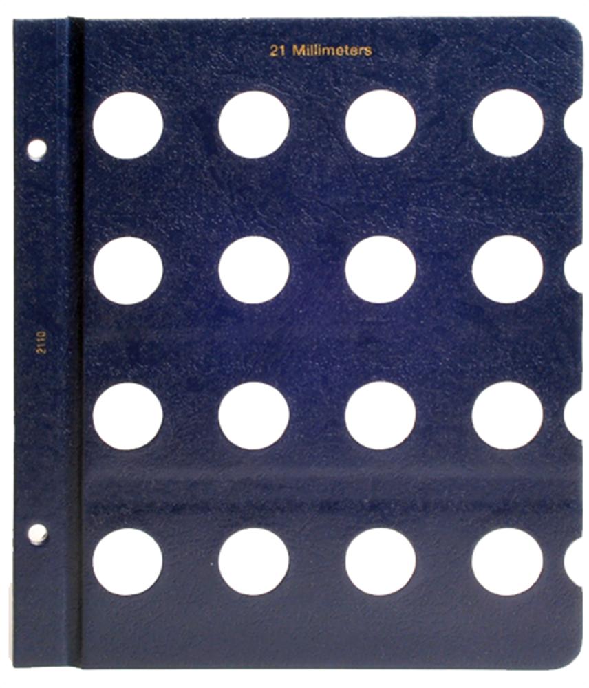 Whitman Blank Pages - 21mm Whitman, Blank Pages - 21mm, 0794821103