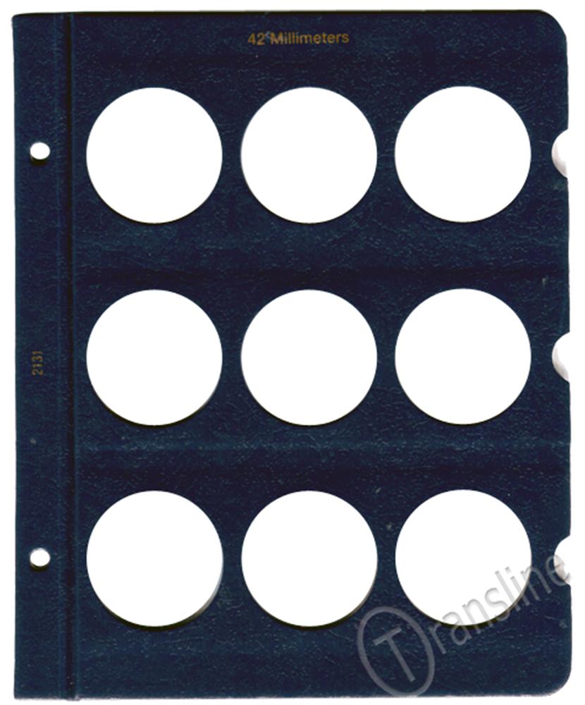 Whitman Blank Pages - 42mm Whitman ,Blank Pages - 42mm, 0794821316