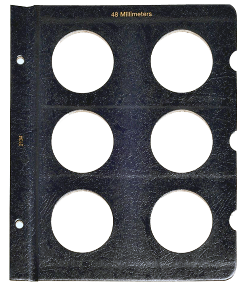 Whitman Blank Pages - 48mm Whitman, Blank Pages - 48mm, 0794821340