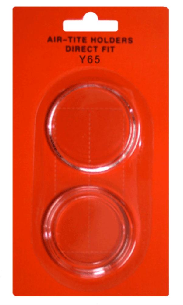 Air Tite Y65 Direct Fit Y65 capsule, Y65 direct fit, y65 coin capsule, y65 air-tite coin capsule