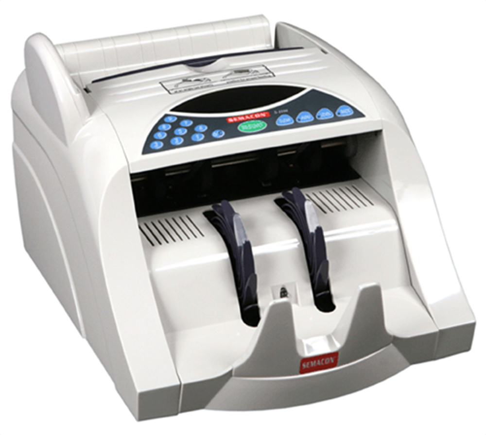 Semacon Heavy Duty Currency Counter S-1125 Semacon ,Heavy Duty, Currency Counter, S-1125