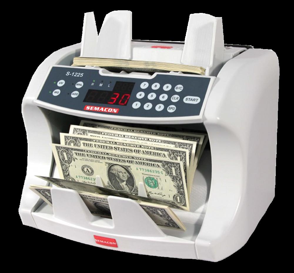 Semacon Bank Grade Currency Counters S-1225 Semacon, Bank Grade Currency Counters, S-1225