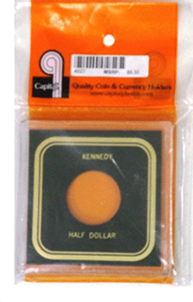 Kennedy Half Dollar- Capital Plastics Kennedy Half Dollar- Capital Plastics, VPX