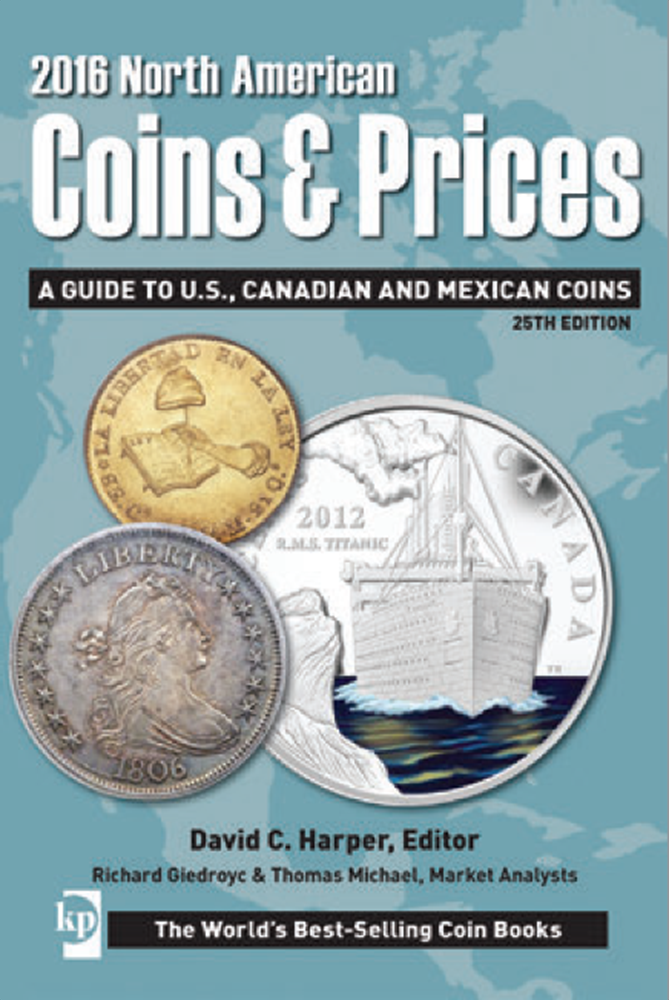 2016 North American Coins & Prices 2016, North American, Coins & Prices, T8810